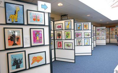 School Art Exhibition Fundraising